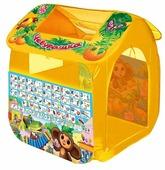 Палатка Играем вместе Чебурашка с азбукой домик в сумке GFA-0055-R