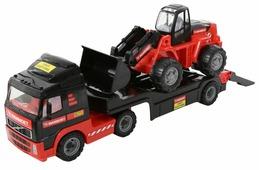 Набор техники Полесье Трейлер и трактор-погрузчик Mammoet Volvo 204-01 (56733)