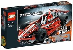 Конструктор LEGO Technic 42011 Карт с инерционным двигателем