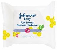 Влажные салфетки Johnson's Baby Pure Protect