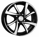 Колесный диск K&K Игуана-оригинал 7x17/5x114.3 D60.1 ET39 алмаз черный