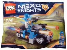 Конструктор LEGO Nexo Knights 30371 Мотоцикл рыцаря