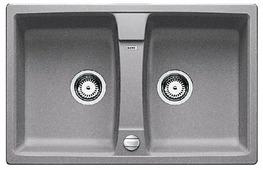 Врезная кухонная мойка Blanco Lexa 8 Silgranit PuraDur 78х50см искусственный гранит