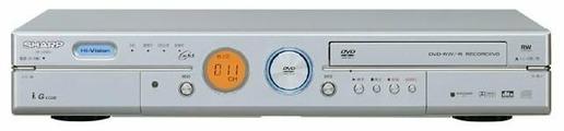 DVD/HDD-плеер Sharp DV-HRD3