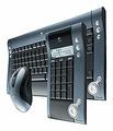 Клавиатура и мышь Logitech diNovo Media Desktop 2.0 Black USB+PS/2