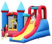 Надувной комплекс Happy Hop Замок с горкой 9007