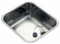 Врезная кухонная мойка Reginox R18 4035 OSK 44.5х39.3см нержавеющая сталь