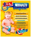 Multi Diapers подгузник B (4-9 кг) 1 шт.