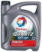 Моторное масло TOTAL Quartz INEO ECS 5W30 5 л