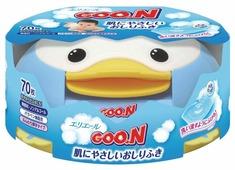 Влажные салфетки Goo.N Для чувствительной кожи в контейнере