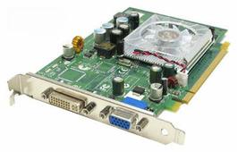 Видеокарта PNY Quadro FX 350 550Mhz PCI-E 128Mb 810Mhz 64 bit DVI