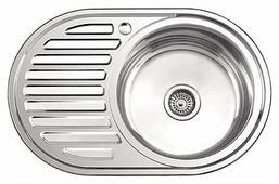 Врезная кухонная мойка Ledeme L87750-R