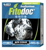 Агроветзащита ошейник от блох и клещей Fitodoc для собак крупных пород