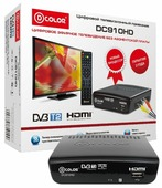 TV-тюнер D-COLOR DC910HD