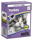 Корм для кошек Bozita с индейкой 370 г (кусочки в желе)