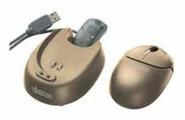 Мышь Vivanco Optical FM Mouse Beige USB