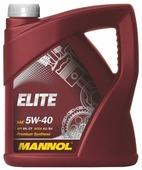 Моторное масло Mannol Elite 5W-40 4 л