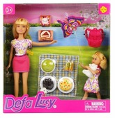 Набор кукол Defa Lucy На пикнике 23 см 8282