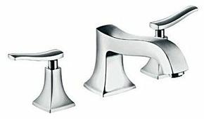 Двухрычажный смеситель для ванны hansgrohe Metris Classic 31313000