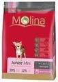 Корм для собак Molina Junior Mini