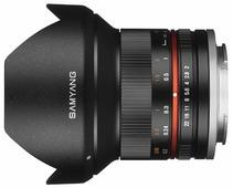 Объектив Samyang 12mm f/2.0 NCS CS Canon M