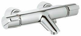 Смеситель для ванны с душем Grohe Grohtherm-2000 34174000 двухрычажный с термостатом хром