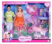 Набор кукол Defa Lucy Счастливая семья 8088
