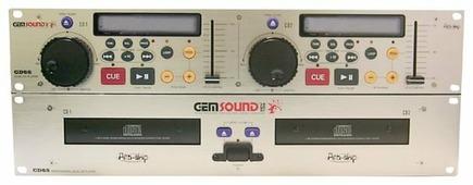 DJ CD-проигрыватель Gem Sound CD-65