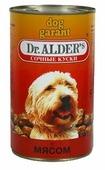 Корм для собак Dr. Alder`s ДОГ ГАРАНТ говядина кусочки в желе Для взрослых собак