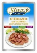 Корм для кошек Stuzzy Cat для взрослых стерилизованных кошек c индейкой