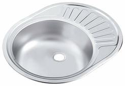 Врезная кухонная мойка UKINOX Favorit FAD 577.447---5K