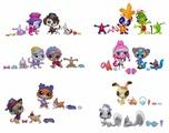 Игровой набор Littlest Pet Shop Зверюшки-модницы A8232