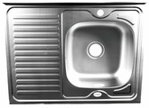 Накладная кухонная мойка Fabia 80x60 0.6/160