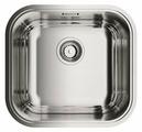 Интегрированная кухонная мойка OMOIKIRI Omi 44-U/IF IN 44.5х41.5см нержавеющая сталь
