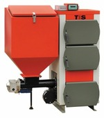 Твердотопливный котел TIS EKO 65 65 кВт одноконтурный