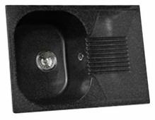 Врезная кухонная мойка Granicom G-010 70х50см искусственный мрамор