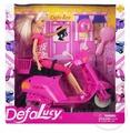 Кукла Defa Lucy Люси со скутером 29 см 8206