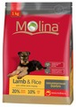 Корм для собак Molina Adult Lamb & Rice All Breed