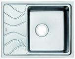 Врезная кухонная мойка IDDIS Reeva REE61SRi77 61.5х48см нержавеющая сталь