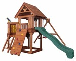 Спортивно-игровой комплекс Playgarden Green Hill с балконом