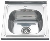 Накладная кухонная мойка MELANA MLN-5060 50х60см нержавеющая сталь