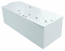 Ванна POOLSPA MUZA XL 160x75 акрил угловая
