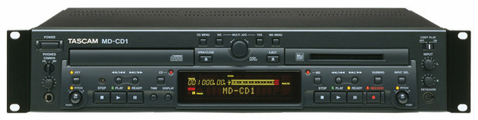 CD-проигрыватель Tascam MD-CD1