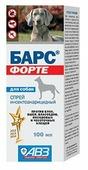 Барс (АВЗ) Форте спрей инсектоакарицидный для собак