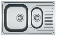 Врезная кухонная мойка FRANKE PXN 651-78 78х49см нержавеющая сталь