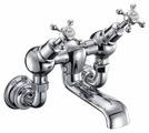 Смеситель для ванны Burlington Claremont Regent CLR26 двухрычажный хром