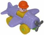 Конструктор Полесье Юный путешественник 55378 Самолёт