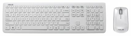 Клавиатура и мышь ASUS W3000 White USB