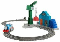 """Fisher-Price Стартовый набор """"Томас с подъемным краном Крэнки"""", серия TrackMaster, DVF73"""