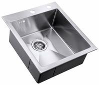 Врезная кухонная мойка ZorG INOX RX-4551 45х51см нержавеющая сталь